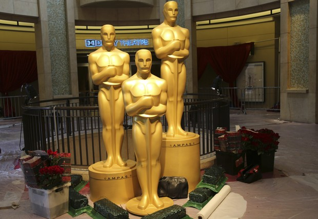 Preparativos para o Oscar (Foto: REUTERS/Robert Galbraith)