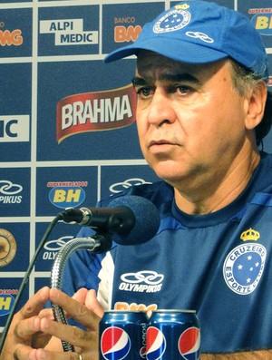 Marcelo Oliveira Treino Cruzeiro (Foto: Mauricio Paulucci)