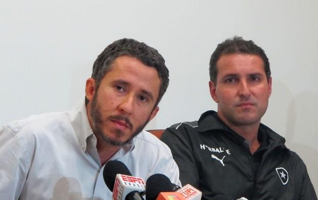 Fabrício Braga e Rodrigo Kaz Botafogo (Foto: Fred Huber)
