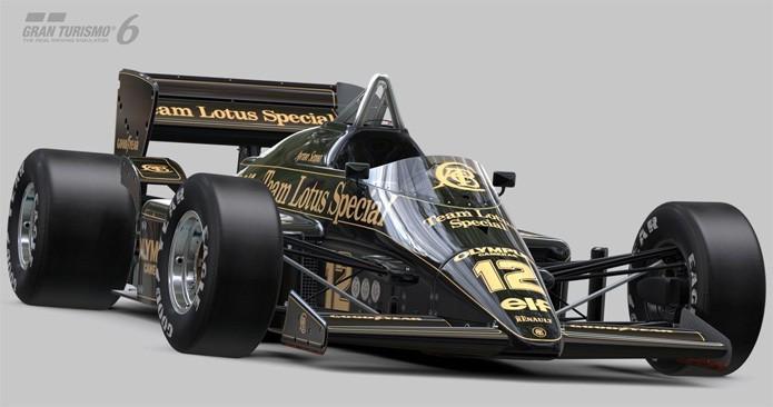 A Lotus pilotada por Senna será uma das novidades em Gran Turismo 6 (Foto: Divulgação)