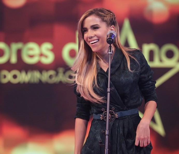 Anitta no 'Melhores do Ano' 2014  (Foto: Pedro Curi/Gshow)