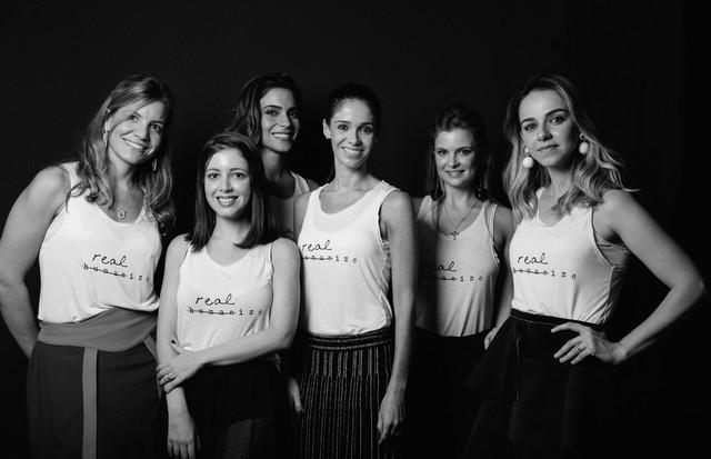 Karina Rojek, Luiza Hueb, Daniela Appolonio Bastos, Marcela Bernardes, Flavia Brant e Bárbara Jalles (Foto: Divulgação)