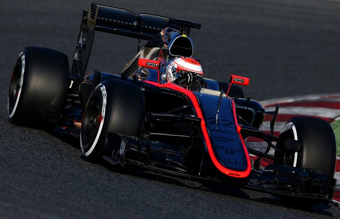 Jenson Button - McLaren - testes de pré-temporada da Fórmula 1 - Barcelona - dia 1 (Foto: Getty Images)