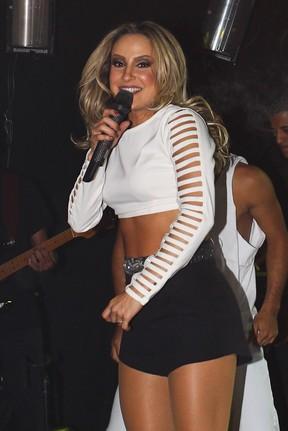 Claudia Leitte em show em São Paulo (Foto: Manuela Scarpa/ Foto Rio News)