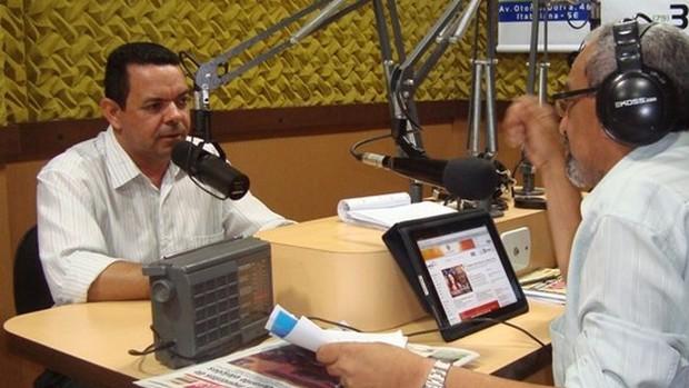 Prefeito de São Domingos (Foto: FM Itabaiana)