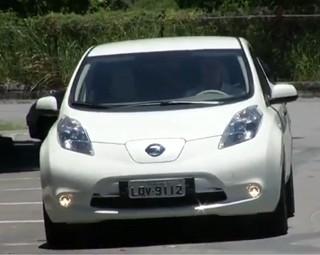 """""""Leaf"""" é um protótipo, o primeiro carro 100% elétrico vendido em larga escala no mundo (Foto: Reprodução Rio Sul Revista)"""