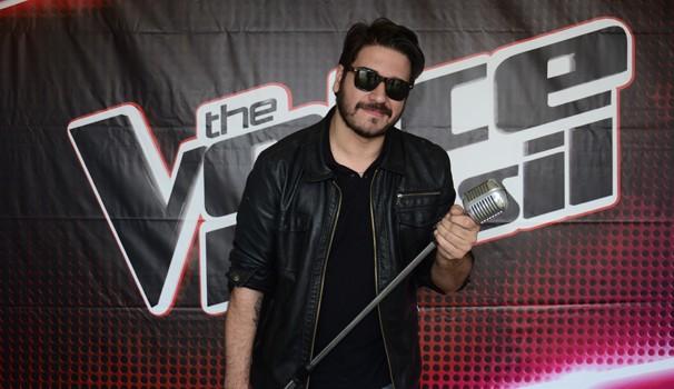 Rodrigo Castellani The Voice BR (Foto: Thiago Fernandes/ RPC TV)