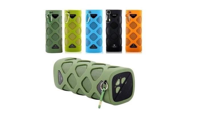 Caixa de som Bluetooth resistente à água e areia (Foto: Reprodução/Mercado Livre)