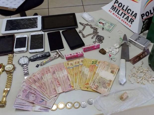Segundo balanço parcial, mais de 30 pessoas foram presas em 8 cidades (Foto: Reprodução EPTV)