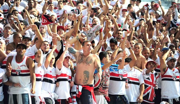 Torcida São Paulo  (Foto: Marcos Ribolli)