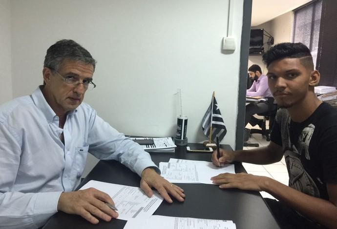 Igor Cássio Botafogo (Foto: Divulgação)
