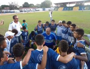Marília Sub-17 do Maranhão joga contra Interporto (Foto: Alexandre Alves/ TV Anhanguera)