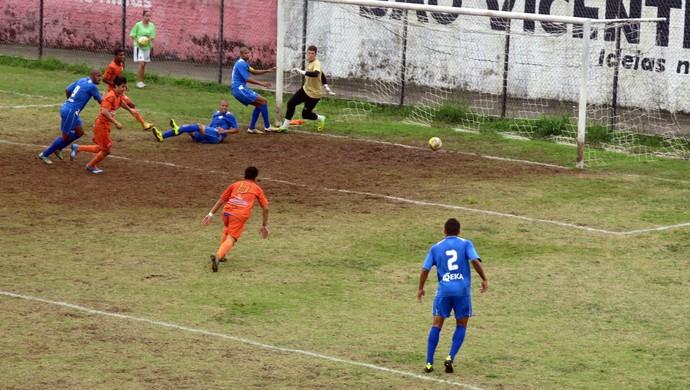 Guarujá Manthiqueira Segunda Divisão do Campeonato Paulista (Foto: Bruno Gutierrez)