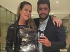 Luana Piovani e Pedro Scooby posam estilosos em Paris