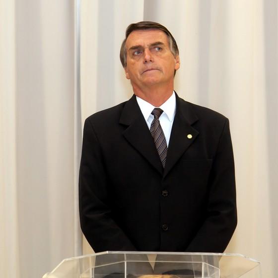 deputado federal Jair Bolsonaro (Foto: Diego Soares/Raw Image/Folhapress)
