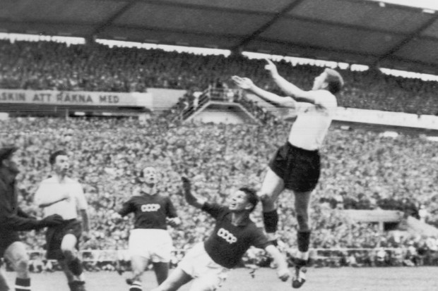 União Soviética - Copa do Mundo 1958 (Foto: Getty Images)