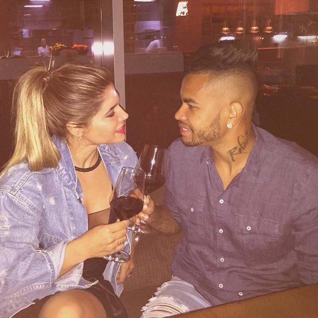 Dani Souza e Dentinho (Foto: Reprodução/Instagram)