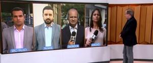 Repórter Heliana Gonçalves participa ao vivo do Bom Dia Brasil dessa terça (20); reveja (Reprodução/ Rede Globo)
