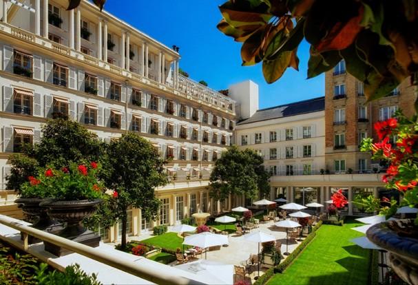 Hotel Le Bristol, em Paris (Foto:  Roméo Balancourt/Divulgação)
