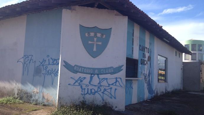 Diretoria do Oratório avalia proposta de venda da sede do clube, no AP (Foto: Rafael Moreira/GE-AP)