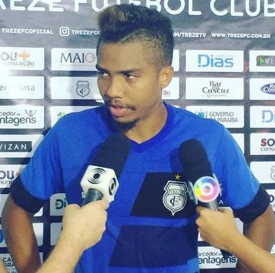 Anderson Feijão, Treze (Foto: Divulgação / Treze)