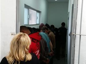 Delegacia de Investigação de Araranguá está com 12 presos (Foto: Jorge Giraldi/Divulgação)