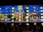 Festival cria galeria de arte luminosa em pontos simbólicos de Londres