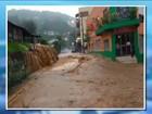Chuva causa transbordamento de rio e alagamentos no Oeste de SC