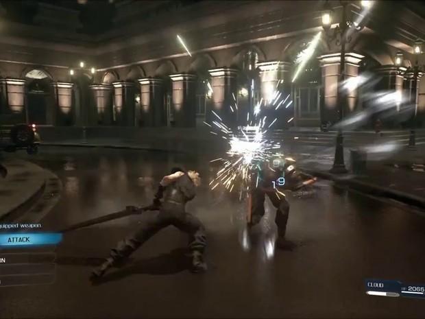 Segundo trailer de 'Final Fantasy VII' mostra um sistema de combate em tempo real, diferente do original (Foto: Reprodução/Square Enix)