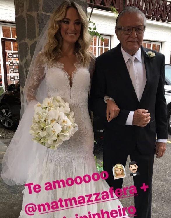 Ticiane e o seu novo vestido (Foto: Reprodução Instagram)