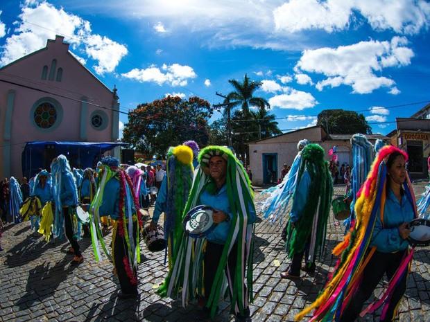 Há mais de dois séculos, Festa do Rosário acontece em Silvianópolis, MG (Foto: William Barbosa/ FCPA)