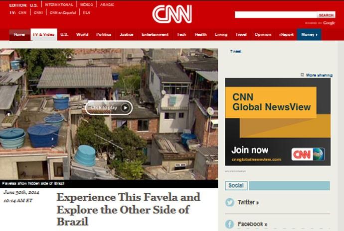 CNN favela
