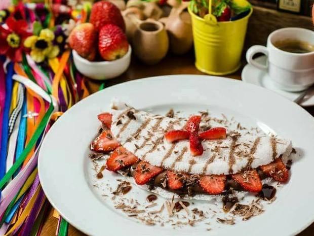 Prato típico da comida nordestina são servidos com novos recheios (Foto: Dilvugação)