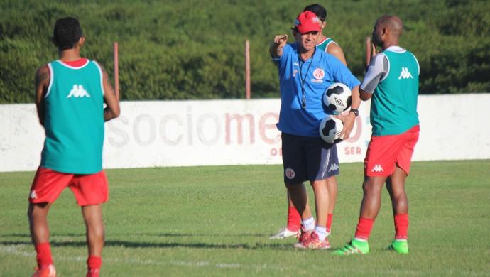América-RN - Guilherme Macuglia treino Natal (Foto: Diego Simonetti/Blog do Major)