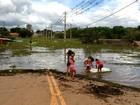 Enchente aumenta casos de doenças transmissíveis pela água, em RO