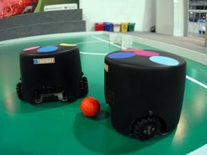 Robótica móvel inteligente, Olimpíada do Conhecimento 2008. (Foto: José Paulo Lacerda)