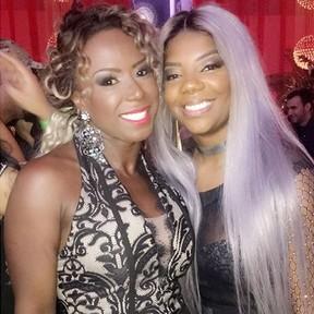 Ex-BBB Adélia e Ludmilla em festa no Rio (Foto: Instagram/ Reprodução)