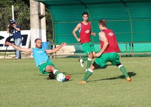 Luverdense treinos Série B (Foto: Assessoria/Luverdense Esporte Clube)