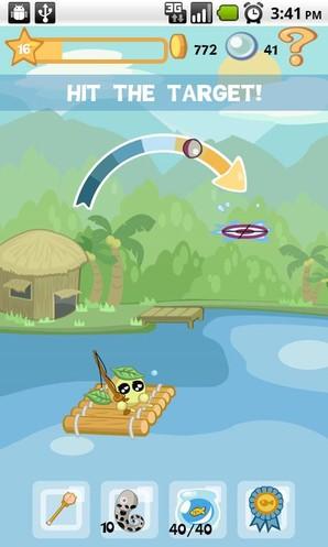 Aqua Pets, jogo de pesca