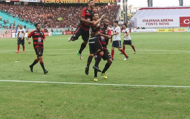 renato cajá bahia x vitória (Foto: LEOGUMP CARVALHO/FRAME/Agência Estado)