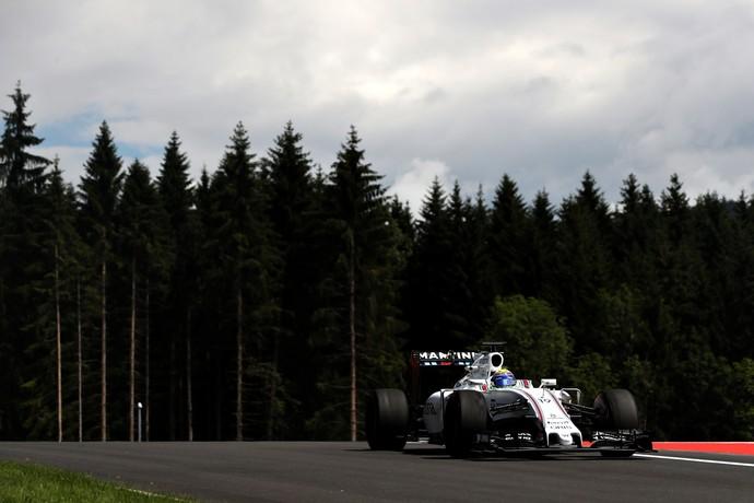 Felipe Massa nos treinos livres para o GP da Áustria (Foto: Getty Images)