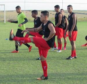 Treino Atlético Potengi (Foto: Rhuan Carlos/Divulgação)