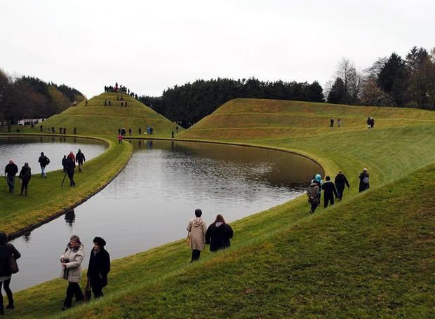 Garden of Cosmic Speculation – Dumfries, Escócia (Foto: Reprodução / Facebook)