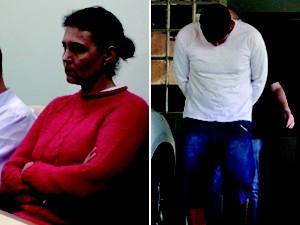 Evandro Wirganovicz e Edelvania Wirganovicz são acusados no caso do menino Bernardo (Foto: Reprodução/RBS TV)