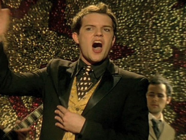 The Killers no clipe de Mr. Brightside (Foto: reprodução )