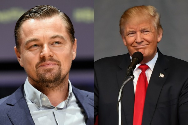 Leonardo DiCaprio e Donald Trump (Foto: Getty Images)