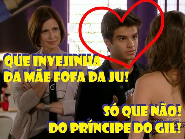 Marta, Gil e Ju (Foto: Malhação / TV Globo)