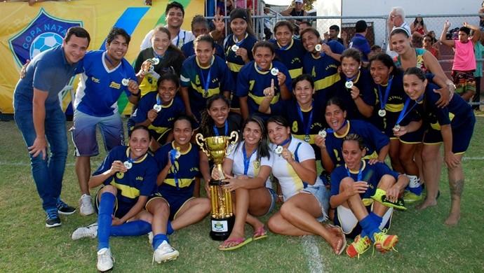 União vai representar o RN na Copa do Brasil de Futebol Feminino (Foto: Marco Polo/Divulgação)