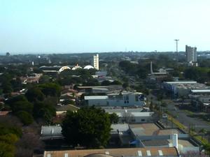 Umidade relativa do ar chegou a 26% em Paranavaí (Foto: Reprodução RPC)