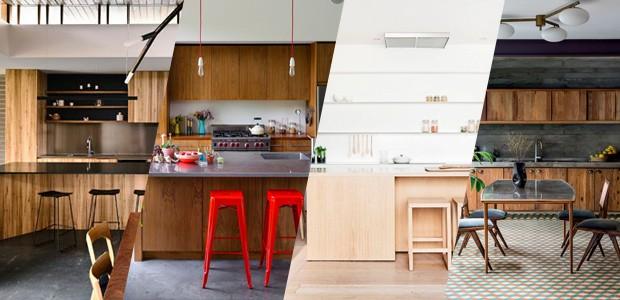 decora o de cozinhas com madeira 12 ambientes aconchegantes casa vogue ambientes. Black Bedroom Furniture Sets. Home Design Ideas